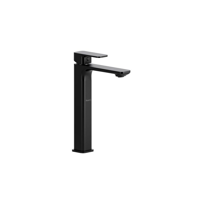 Riobel EQL01 – EQUINOX, TALL, SINGLE HOLE FAUCET, IN BLACK, CHROME AND BRUSHED NICKEL