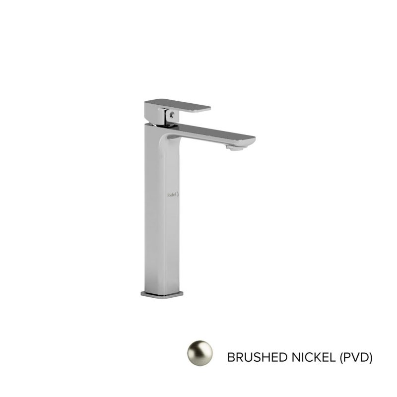 Riobel EQL01BN – EQUINOX, TALL, SINGLE HOLE FAUCET, IN BRUSHED NICKEL