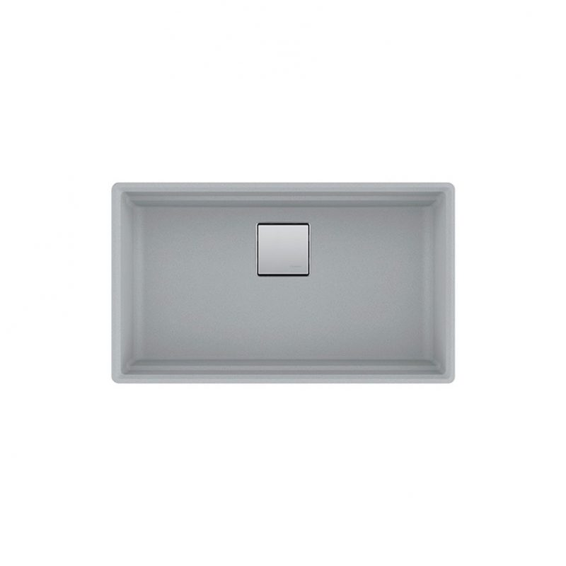 FRANKE PKG110-31SG – PEAK, Undermount in Granite Shadow Grey finish