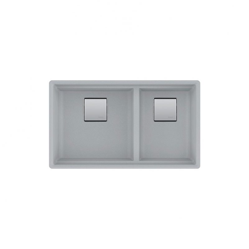 FRANKE PKG160SG – PEAK, Undermount in Granite Shadow Grey finish
