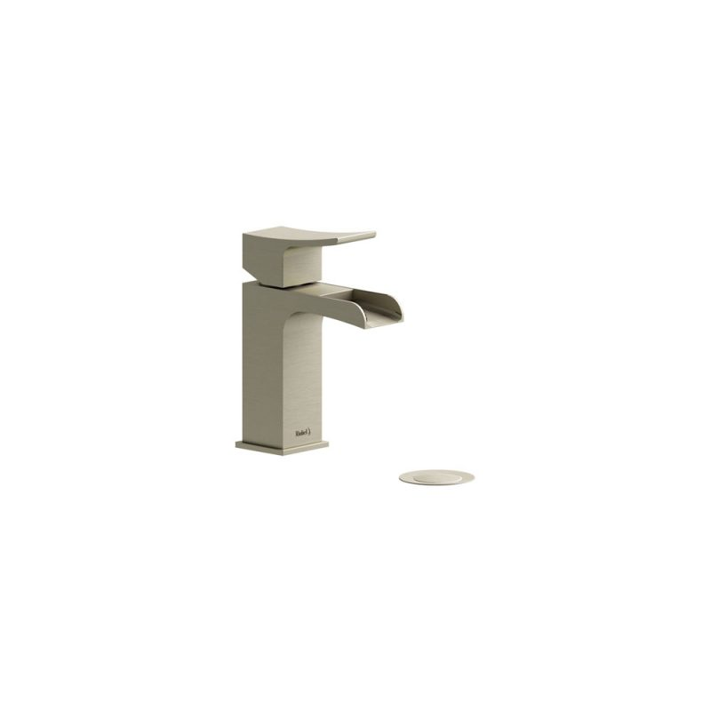 Riobel ZSOP01BN – ZENDO , SINGLE HOLE OPEN SPOUT FAUCET, in Brushed Nickel