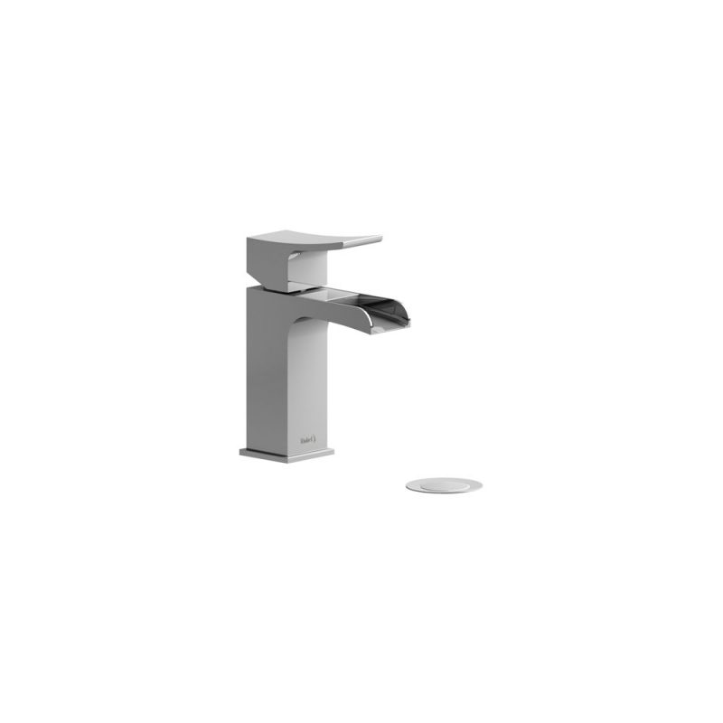 Riobel ZSOP01 – ZENDO , SINGLE HOLE OPEN SPOUT FAUCET, in Chrome and Brushed Nickel