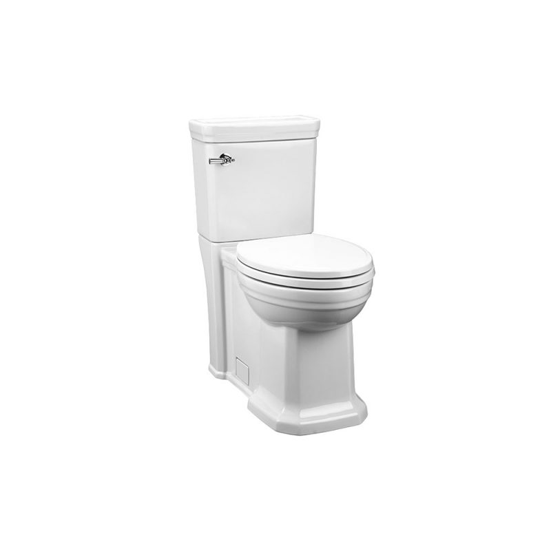 DXV D2205CA101.415 – FITZGERALD, TWO-PIECE ELONGATED TOILET