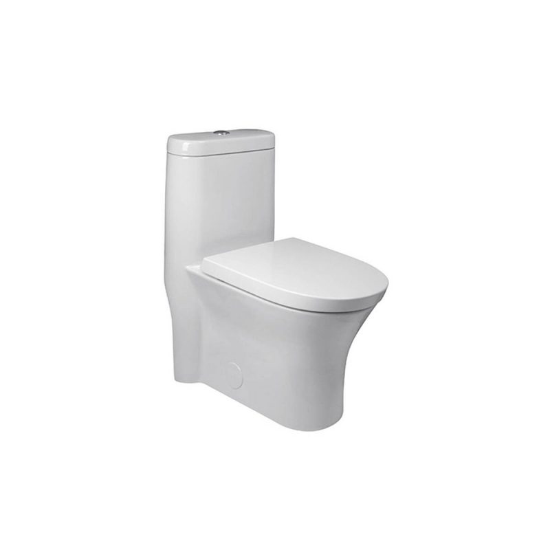 American Standard 750CA200.020 – Cosette, Elongated Dual Flush Toilet