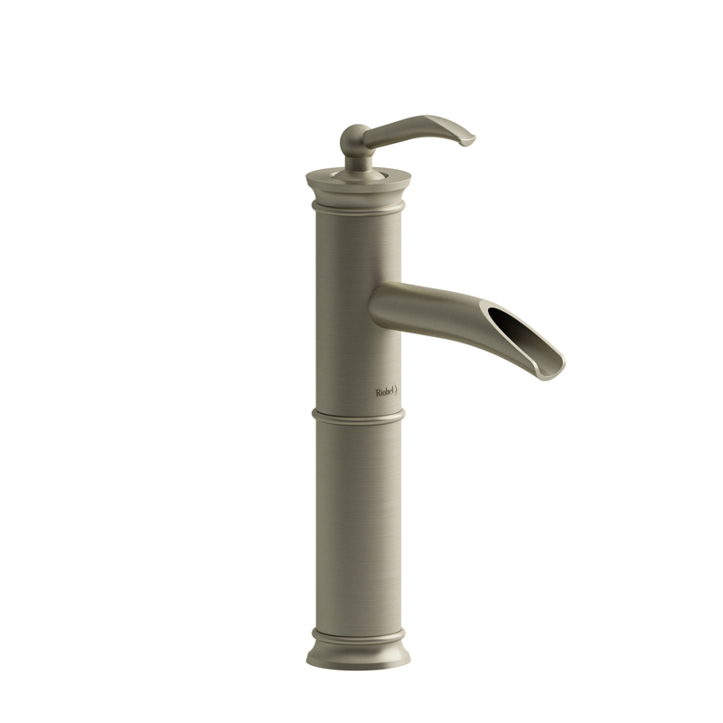 Riobel ALOP01BN – Altitude, Single hole lavatory open spout faucet