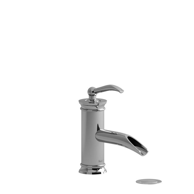 Riobel ASOP01C – Single Hole Lavatory Open Spout Faucet