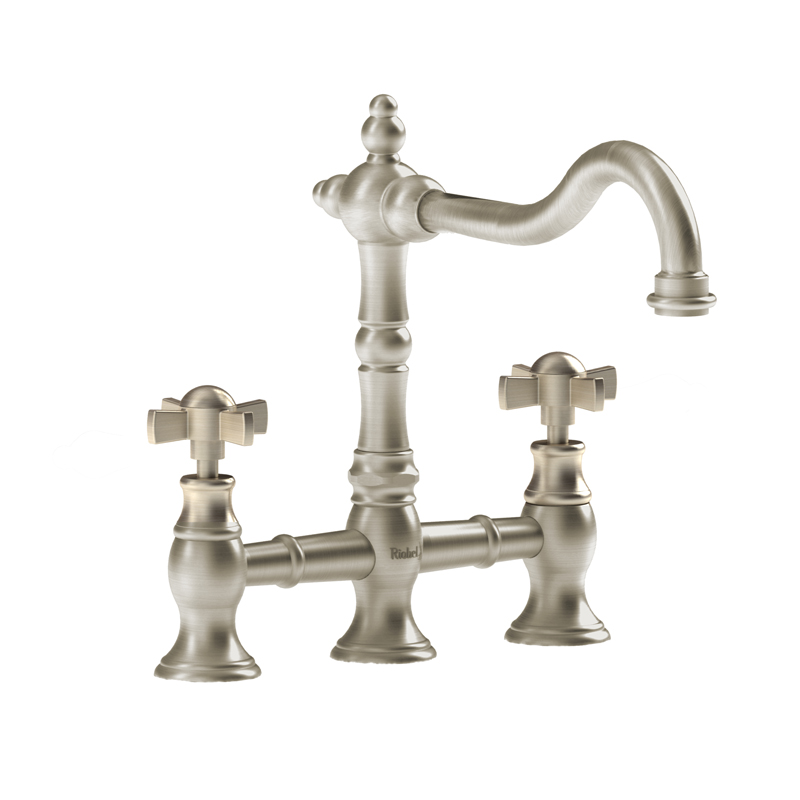 Riobel BR100XBN – Bridge Kitchen Faucet