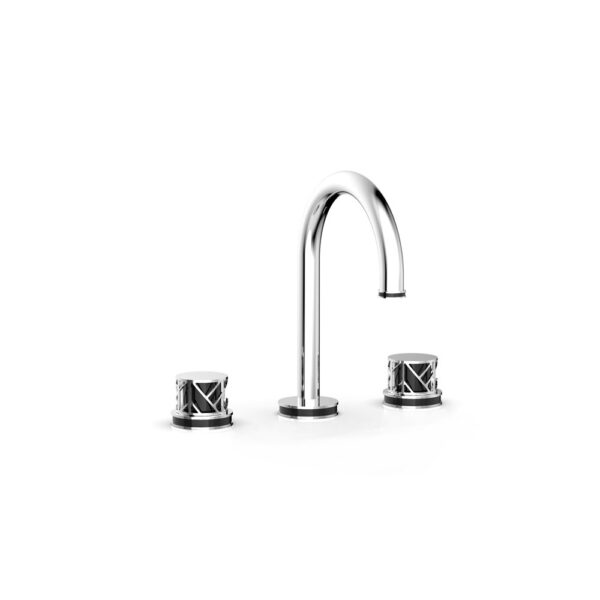 PHYLRICH 222-01-026X041 - JOLIE, Round Handles with Black Accents