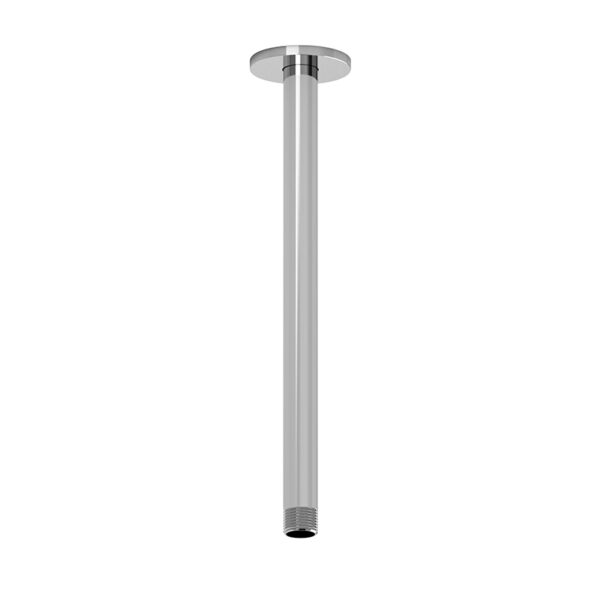 "Riobel P507C - 30 cm (12"") vertical shower arm"