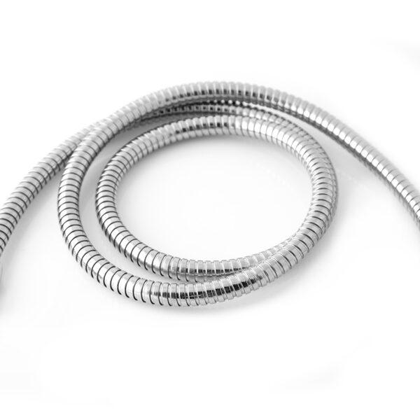 "Riobel 7259BN - Double Interlock Flexible Hose, Swivel and 2 Check Valves 59"""