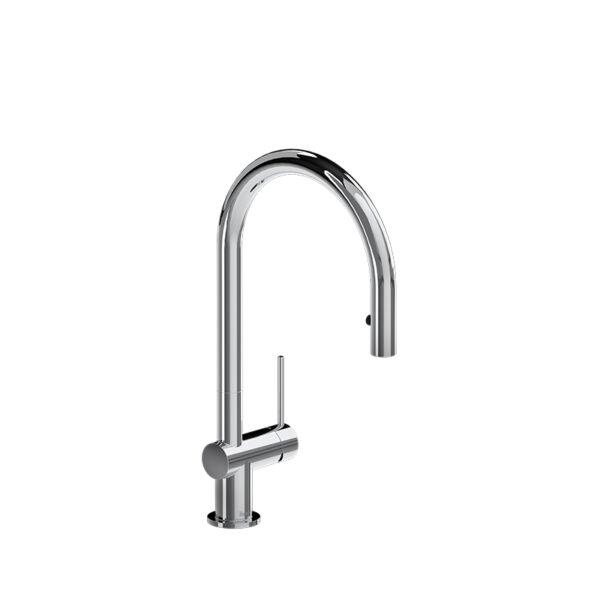 Riobel AZ101BG - Azure Kitchen Faucet with Spray