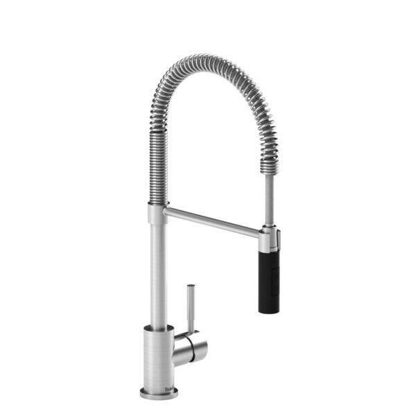 Riobel BI201SSBK - Kitchen Faucet with Spray