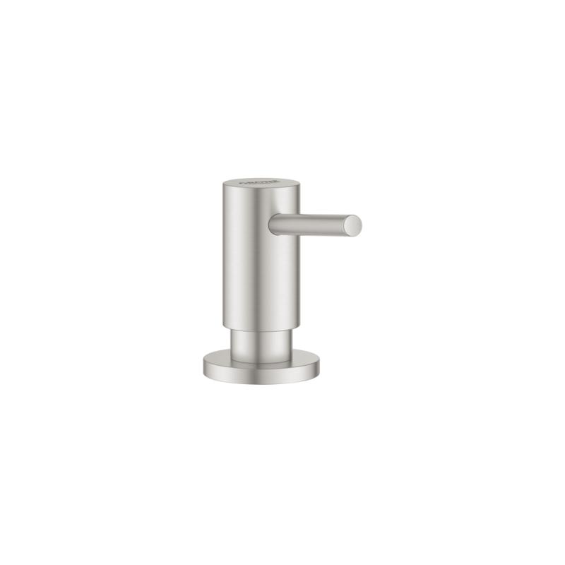 Grohe 40535DC0 – Cosmopolitan Soap Dispenser, SuperSteel Infinity Finish