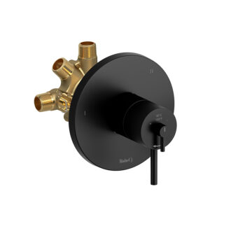 Riobel CO95BK - 3-way Type T/P coaxial complete valve