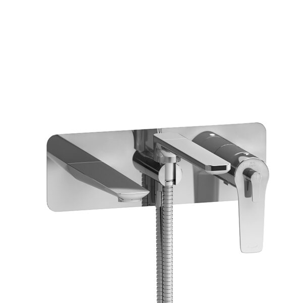Riobel DJ21C - Wall-mount Type T/P coaxial tub filler with hand shower