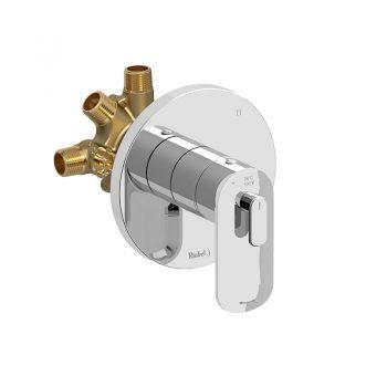 Riobel EV95C - 3-way Type T/P coaxial complete valve