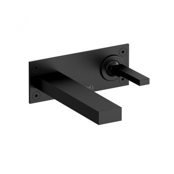 Riobel QA11BK - Wall-mount lavatory faucet