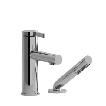 Riobel CO02C - 2-piece deck-mount tub filler with hand shower