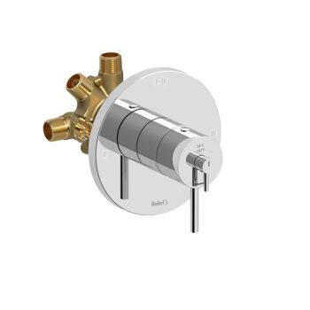Riobel CO93C - 2-way Type T/P coaxial complete valve