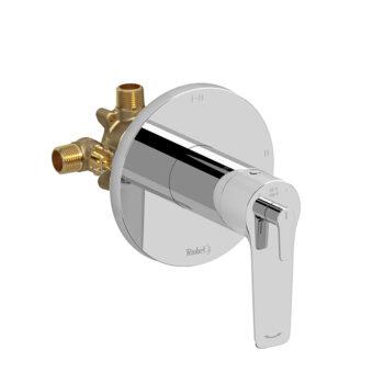 Riobel DJ93C - 2-way Type T/P coaxial complete valve