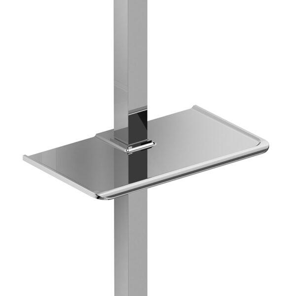 Riobel P240C - Soap dish for square sliding bar