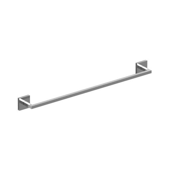 """Riobel P945BK - 60 cm (24"""") towel bar"""