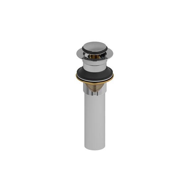 Riobel PDL150BK - Lavatory push drain without overflow