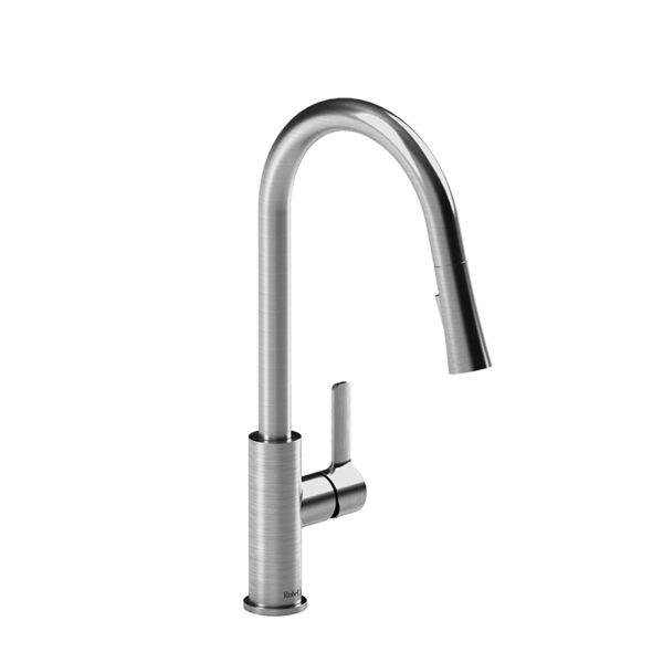 Riobel PO101SS - Pronto kitchen faucet with spray