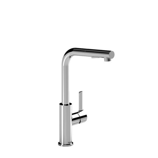 Riobel PX101C - Pixi kitchen faucet with spray
