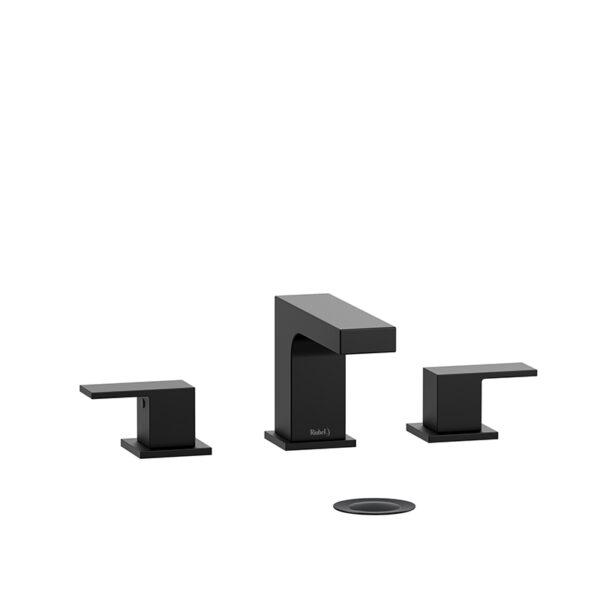 "Riobel QA08BK - 8"" lavatory faucet"
