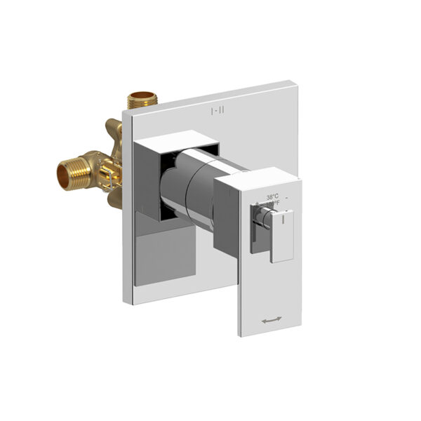 Riobel QA93C - 2-way Type T/P coaxial complete valve