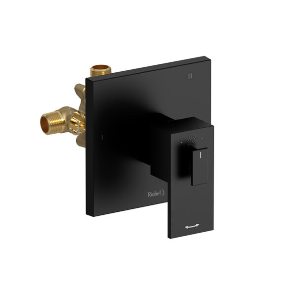 Riobel QA97BK - 3-way no share Type T/P coaxial complete valve