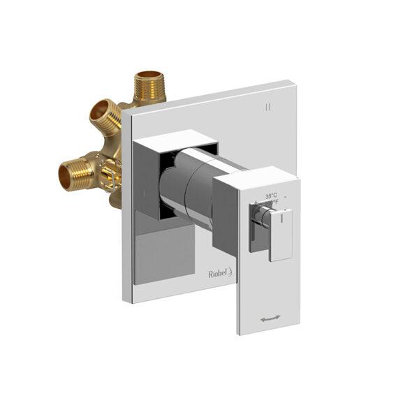 Riobel TQA97C - 3-way no share Type T/P coaxial valve trim