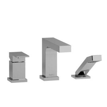 Riobel TQA16C - 3-piece Type P deck-mount tub filler with hand shower trim