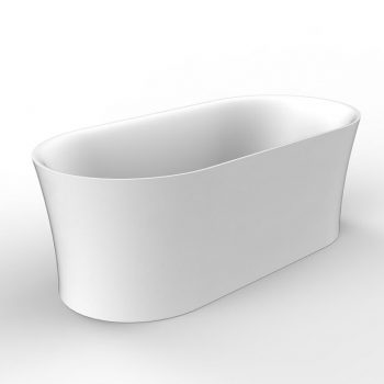 "BAGNO ITALIA AP313170 - Freestanding Air System and Chromotherapy Bathtub 67"" x 32"" x 24"""