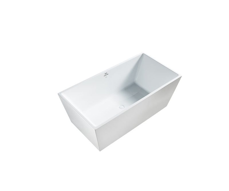 "BAGNO ITALIA AM123160 - Freestanding Bathtub 63"" x 32"" x 24"""