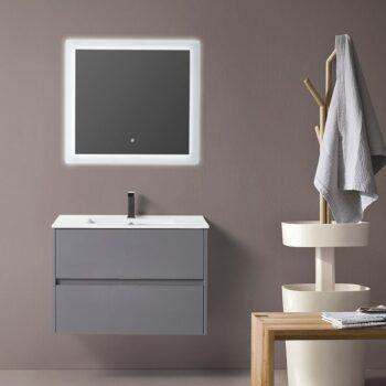 BAGNO ITALIA CORALLO - GR - Over Counter or Undermount Crystal Vessel