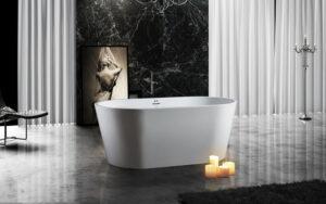 BAGNO ITALIA MONACO59 - Freestanding Bathtub 59