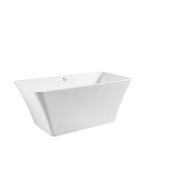 """Bagno Italia  Dove 67 FreeStanding Bath Tub 67"""" x 30"""" x 34"""""""