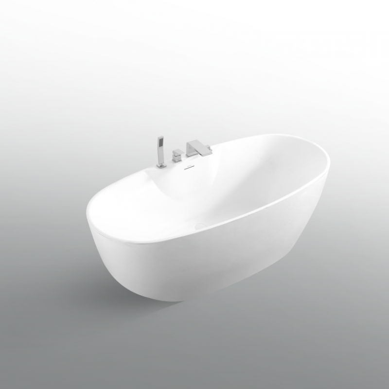 "BAGNO ITALIA CH680170 - Freestanding Bathtub 67"" x 32"" x 27"""