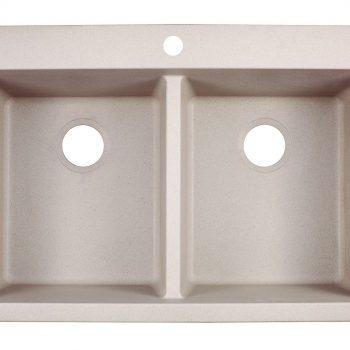 Franke Primo Dual Mount Kitchen Sink - DIG62D91-CHA-CA