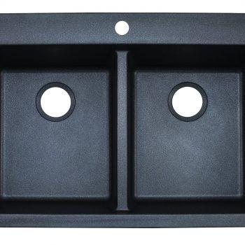 Franke Primo Dual Mount Kitchen Sink - DIG62D91-GRA-CA