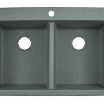 Franke Primo Dual Mount Kitchen Sink - DIG62D91-SHG-CA