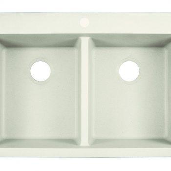 Franke Primo Dual Mount Kitchen Sink - DIG62D91-WHT-CA