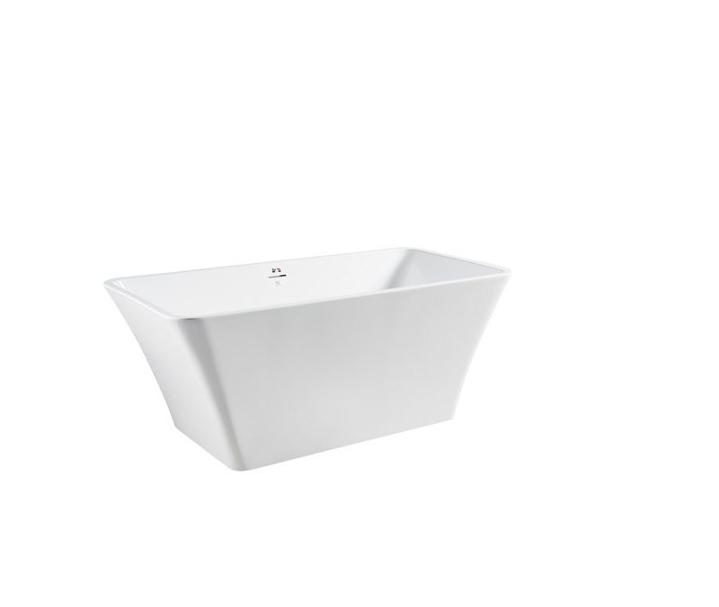 "BAGNO ITALIA DV166150 - Freestanding Bathtub 59"" x 30"" x 24"""