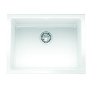 Franke Farm House Fireclay Undermount Kitchen Sink - FH2K110-24WH