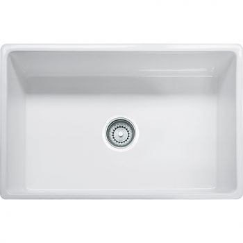 Franke Farm House Fireclay Apron Front Kitchen Sink - FHK710-30WH
