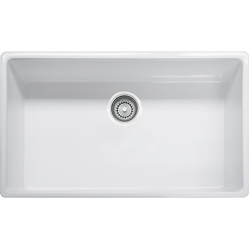 Franke Farm House Fireclay Apron Front Kitchen Sink - FHK710-33WH