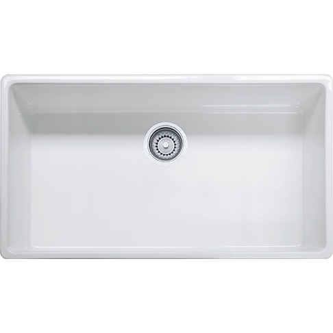 Franke Farm House Fireclay Apron Front Kitchen Sink - FHK710-36WH
