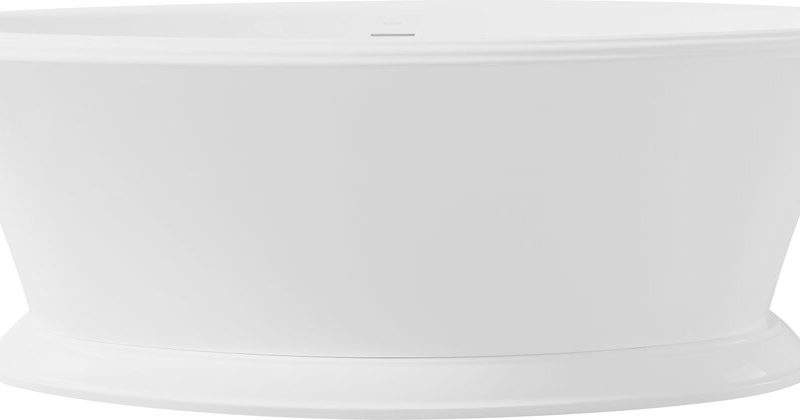 "BAGNO ITALIA HP198170 - Freestanding Bathtub 67"" x 32"" x 24"""